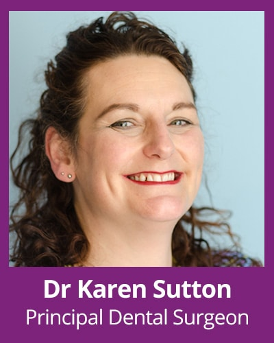 Dr Karen Sutton Principal dental surgeon
