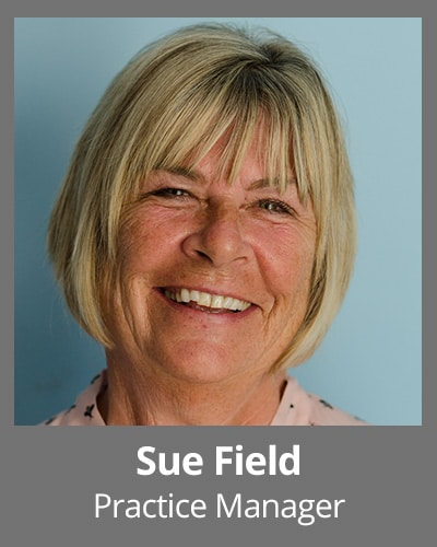 Sue Field pratice manager
