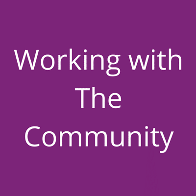 working with the community