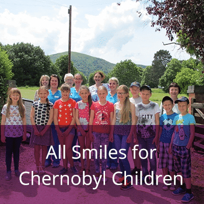All smiles for Chernobyl Children