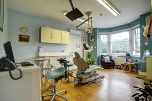 dentist waiting room
